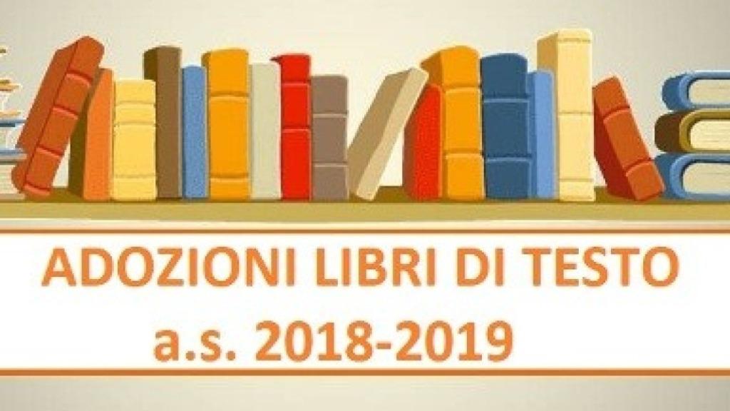 LIBRI DI TESTO - A.S. 2018/19